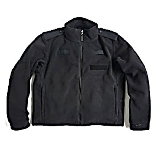 直送・代引不可ロンドン警視庁放出 ポーラテックフリースジャケット ブラック未使用デットストック 《100-173》別商品の同時注文不可