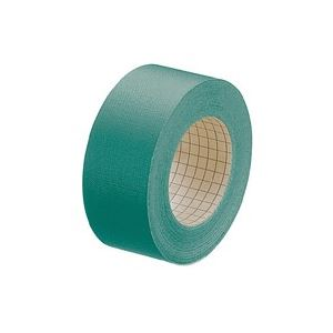 直送・代引不可 (業務用100セット) プラス 製本テープ/紙クロステープ 【35mm×12m】 裏面方眼付き AT-035JC 緑 ×100セット 別商品の同時注文不可