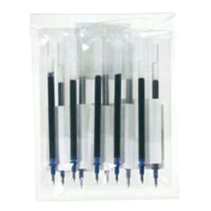 直送・代引不可(業務用100セット) ジョインテックス ゲルボールペン替芯 青 H011J-BL-10別商品の同時注文不可