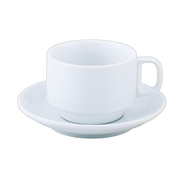直送・代引不可(まとめ) いちがま スタッキングコーヒー碗皿 1セット(6客) 【×2セット】別商品の同時注文不可