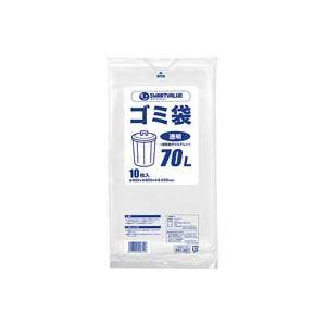 直送・代引不可(業務用100セット) ジョインテックス ゴミ袋 LDD 透明 70L 10枚 N208J-70別商品の同時注文不可