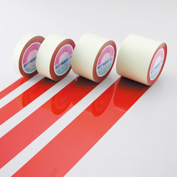 直送・代引不可 ガードテープ GT-751R ■カラー:赤 75mm幅【代引不可】 別商品の同時注文不可