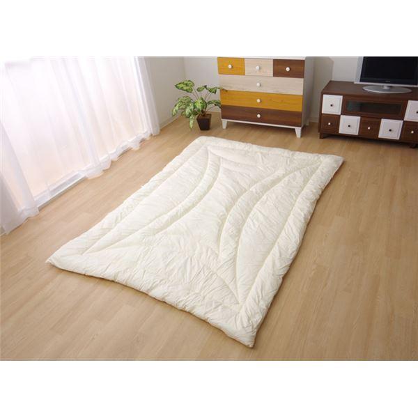 直送・代引不可掛け布団 シングルロング 寝具 無地 ヒバエッセンス使用 『森の眠り』 アイボリー 約150×210cm別商品の同時注文不可