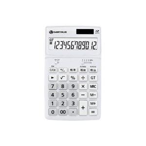 直送・代引不可(業務用50セット) ジョインテックス 小型電卓 ホワイト K072J別商品の同時注文不可