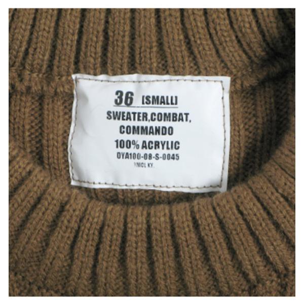 直送・代引不可アメリカ軍 コマンドセーター JW038YN フォリッジ S  別商品の同時注文不可