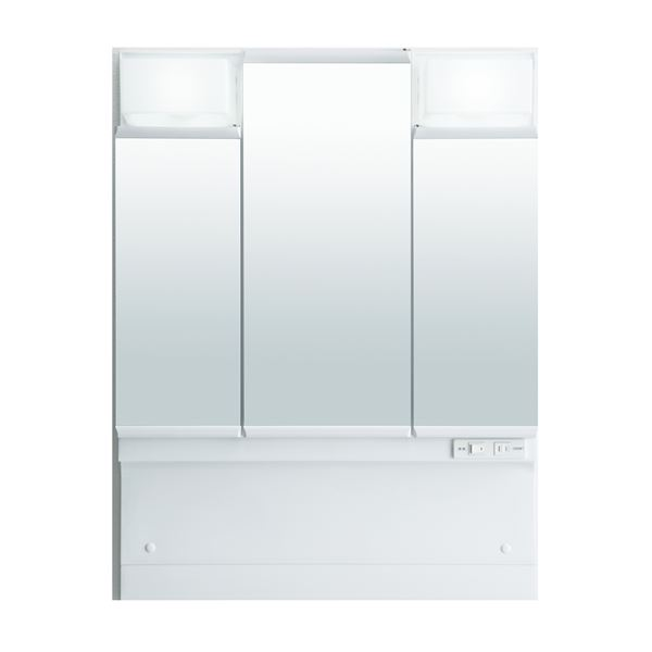 直送・代引不可LIXIL INAX (リクシル イナックス) J1シリーズ ミラーキャビネット三面鏡全収納タイプ MD7X1-753TYPU別商品の同時注文不可