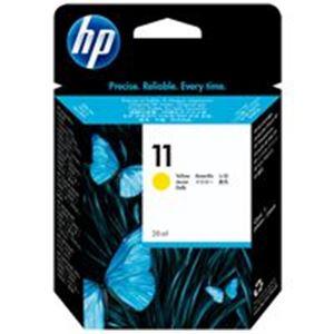 直送・代引不可(業務用5セット) HP ヒューレット・パッカード インクカートリッジ 純正 【HP11 C4838A】 イエロー(黄)別商品の同時注文不可