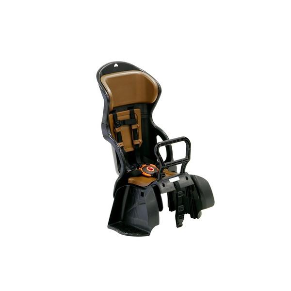 直送・代引不可ヘッドレスト付き後ろ用子供乗せ(自転車用チャイルドシート) 【OGK】RBC-015DX ブラック(黒)/ブラウン【代引不可】別商品の同時注文不可