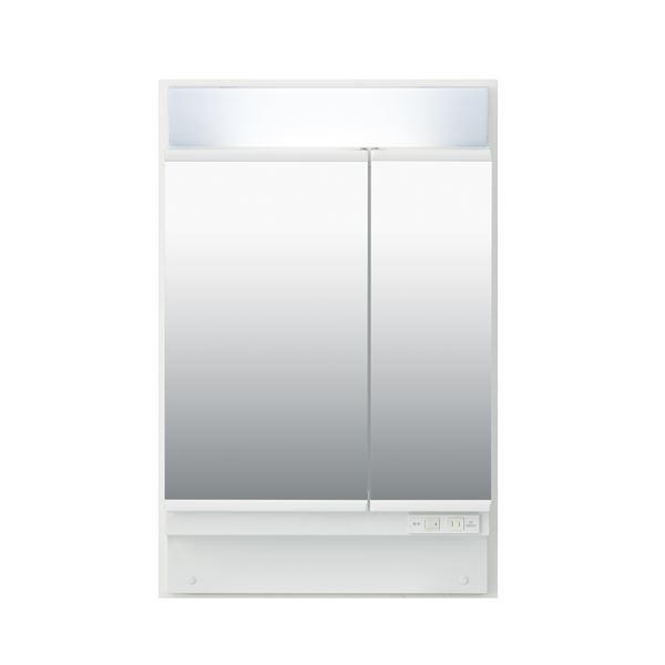 直送・代引不可LIXIL INAX (リクシル イナックス) K1シリーズ ミラーキャビネット二面鏡全収納タイプ MK1X1-602TXU別商品の同時注文不可