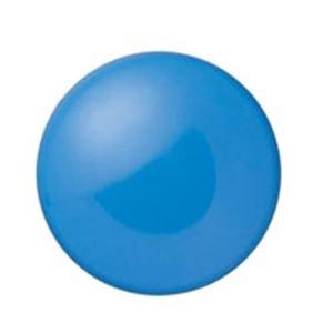 直送・代引不可(業務用300セット) ジョインテックス カラーマグネット 15mm青 10個 B162J-B ×300セット別商品の同時注文不可