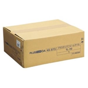 直送・代引不可(業務用2セット) プラス タックフォームラベル TL-110 6面 500折別商品の同時注文不可