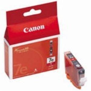 直送・代引不可(業務用40セット) Canon キヤノン インクカートリッジ 純正 【BCI-7eR】 レッド(赤)別商品の同時注文不可
