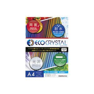 直送・代引不可 (業務用50セット) 十千万 耐水紙エコクリスタル ECO-230-A4 10枚 別商品の同時注文不可