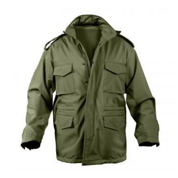 直送・代引不可ROTHCO(ロスコ) ソフトシェルタクティカル M65フィールドジャケット ROGT140980 オリーブ L別商品の同時注文不可