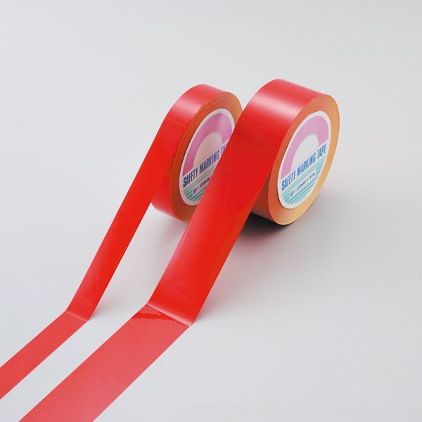 直送・代引不可ガードテープ(再はく離タイプ) GTH-251R ■カラー:赤 25mm幅【代引不可】別商品の同時注文不可