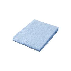 直送・代引不可(業務用50セット) ジョインテックス カラータオル5枚入 ブルー N108J-BL ×50セット別商品の同時注文不可