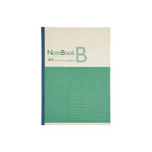 直送・代引不可(業務用20セット) ジョインテックス 再生紙ノート A4 B罫10冊 P044J-10別商品の同時注文不可