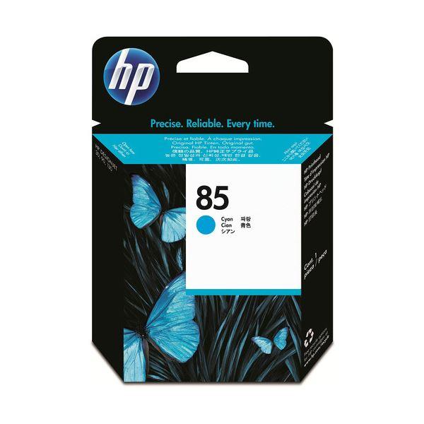 直送・代引不可(まとめ) HP85 プリントヘッド シアン C9420A 1個 【×3セット】別商品の同時注文不可