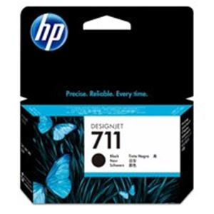 直送・代引不可(業務用10セット) HP ヒューレット・パッカード インクカートリッジ 純正 【hp711 CZ129A】 ブラック(黒)別商品の同時注文不可