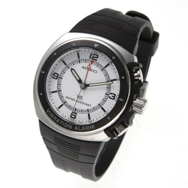直送・代引不可 マキシオ激振(白)【腕時計】 別商品の同時注文不可