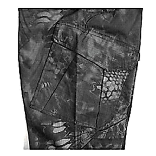 直送・代引不可アメリカ軍 最新鋭ステレス 迷彩オペレーター吸汗速乾パンツ HCP ブラック M別商品の同時注文不可