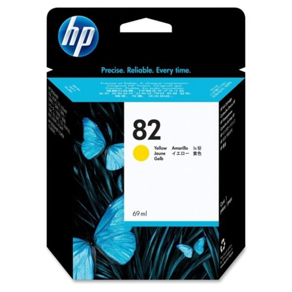 直送・代引不可(業務用5セット) HP ヒューレット・パッカード インクカートリッジ 純正 【HP82 C4913A】 イエロー(黄)別商品の同時注文不可