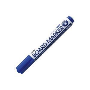 直送・代引不可(業務用400セット) プラス ボードマーカー MARKER-BL ブルー別商品の同時注文不可