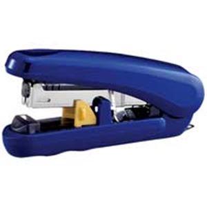 直送・代引不可(業務用100セット) プラス フラットホッチキス ピタヒット ST-010X 青別商品の同時注文不可