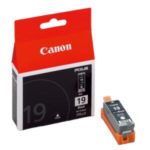 直送・代引不可(業務用40セット) Canon キヤノン インクカートリッジ 純正 【BCI-19BK】 ブラック(黒)別商品の同時注文不可