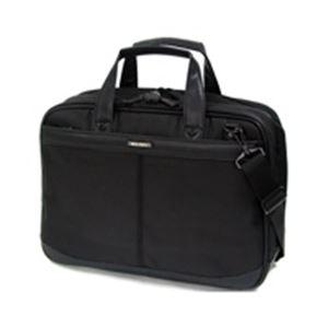 直送・代引不可(業務用5セット) ソリデックス ビジネスバッグ BB-42BK ブラック別商品の同時注文不可
