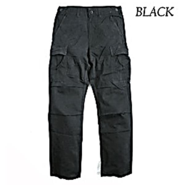 直送・代引不可アメリカ軍 BDU パンツ コットンスリムレプリカ ブラック M別商品の同時注文不可