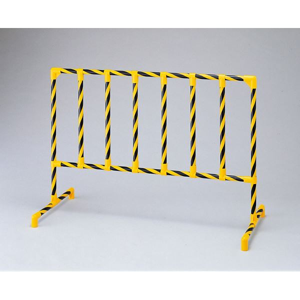 直送・代引不可 パイプスタンド S-8500 ■カラー:黄・黒トラ模様【代引不可】 別商品の同時注文不可