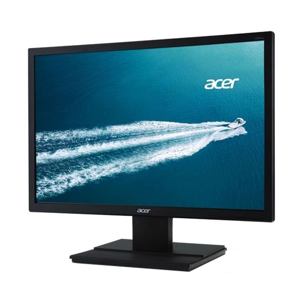 直送・代引不可Acer 19.5型ワイド液晶ディスプレイ(非光沢/1440x900/250cd/100000000:1(ACM)/6ms/ブラック/ミニD-Sub 15ピン・DVI-D24ピン(HDCP対応)) V206WQLbmd別商品の同時注文不可