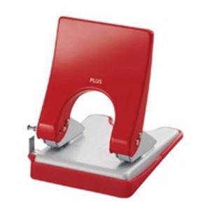 直送・代引不可(業務用30セット) プラス パンチ フォース1/2 M PU-830A 赤別商品の同時注文不可
