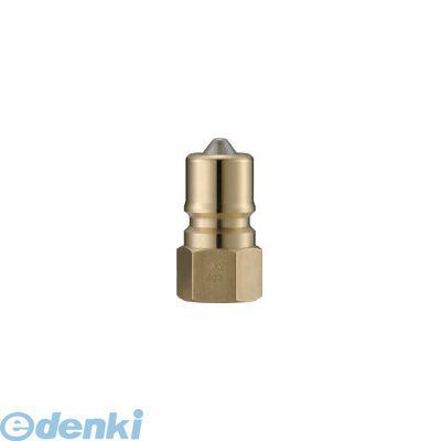 長堀工業 ナック CSP12P2 クイックカップリング S・P型 真鍮製 オネジ取付用 364-4138