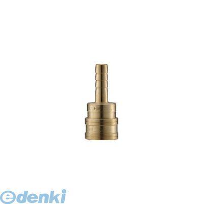 長堀工業 ナック CTL10SH2 クイックカップリング TL型 真鍮製 ホース取付用 364-5410