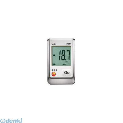 【あす楽対応】テストー(テストー) [TESTO175T1] 温度データロガ内蔵1チャンネル 392-4858