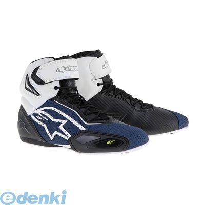 アルパインスターズ(alpinestars) [8021506607649] FASTER 2 VENTED SHOES 1720 BLACK NAVY WHITE YELLOW FLUO サイズ:10.5【送料無料】
