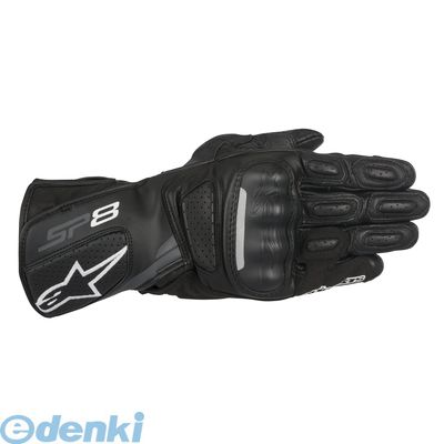 アルパインスターズ alpinestars 8021506610212 SP-8 LEATHER GLOVE 8317 111 BLACK DARK GREY 2XL