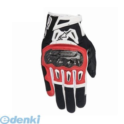 アルパインスターズ alpinestars 8021506616986 SMX-2 AIR CARBON GLOVE 7717 132 BLACK RED WHITE 2XL