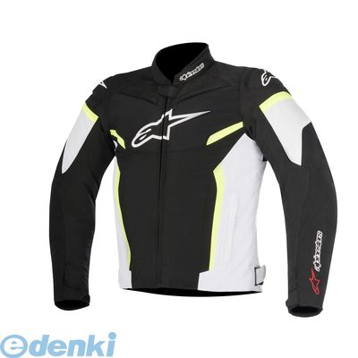 アルパインスターズ alpinestars 8021506625735 T-GP PLUS R JACKET 0517 125 BLACK WHITE YELLOW FLUO 4XL