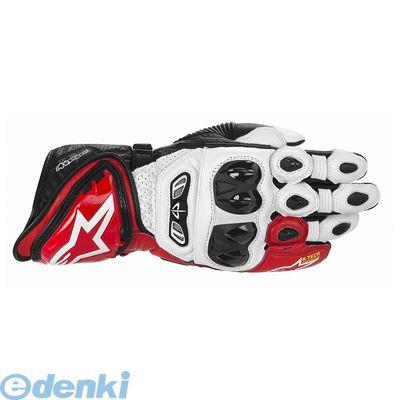 アルパインスターズ alpinestars 8051194242037 GP TECH LEATHER GLOVE 231 WHITE-RED-BLACK 2XL