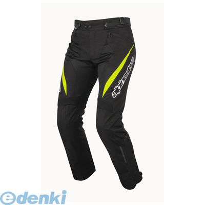 アルパインスターズ(alpinestars) [8051194942548] STRICKER AIR PANTS 4816 155 BLACK YELLOW FLUO S【送料無料】