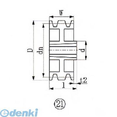エバオン EVN SPA315-3 ブッシングプーリー SPA 315mm 溝数3