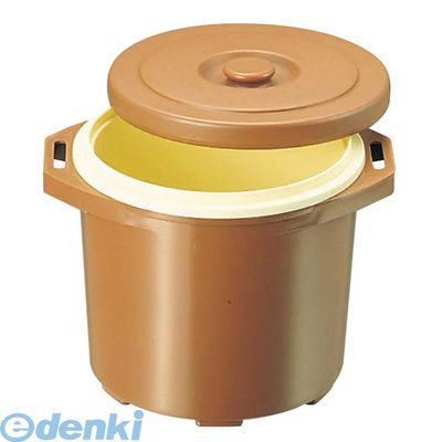 821900 プラスチック 保温食缶 ごはん用 DF-R1 大 D/B 4548170148949【送料無料】