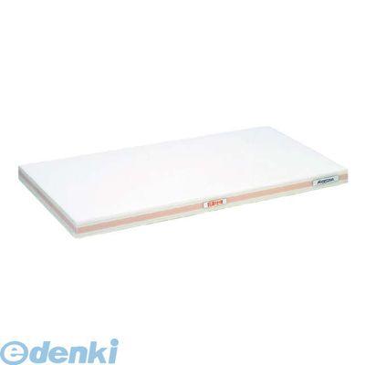 4065612 抗菌かるがるまな板 SDK 500×300×20 ホワイト/桃線 4994808000255