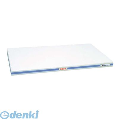 4067114 抗菌かるがるまな板 SDK 600×300×20 ホワイト/青線 4994808000361