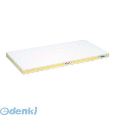 4067211 抗菌かるがるまな板 SDK 600×300×25 ホワイト/黄線 4994808000514
