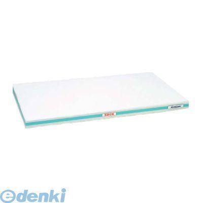 4067213 抗菌かるがるまな板 SDK 600×300×25 ホワイト/緑線 4994808000507