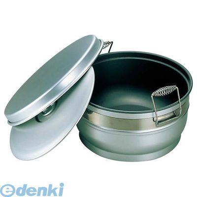 6704600 アルマイト スミフロン 二重食缶 お枢型 264-B 10L 4906211019205